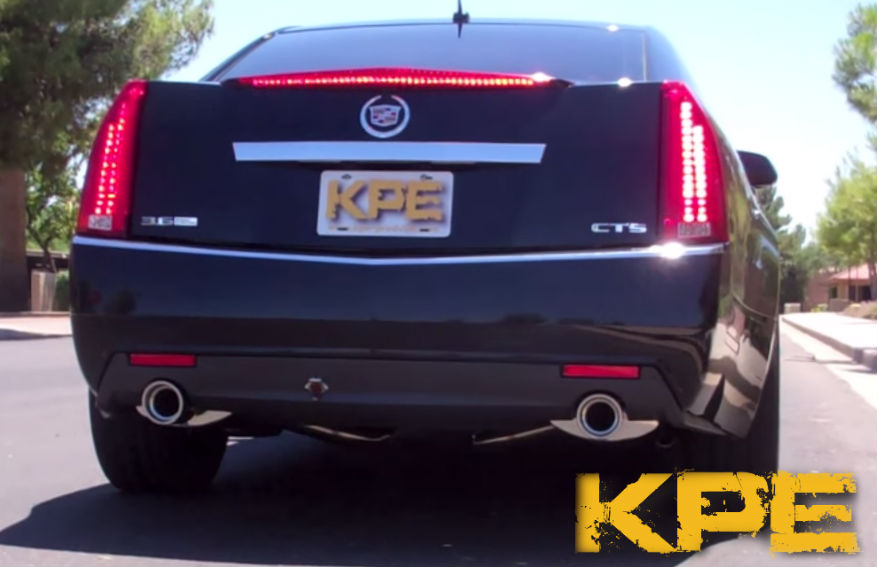 2008 2013 Cts 3 6l Sedan Stainless Exhaust System With 4