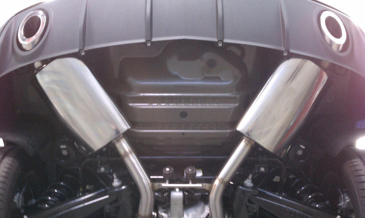 Camaro V6 Axle Back Exhaust System Korkar Performance