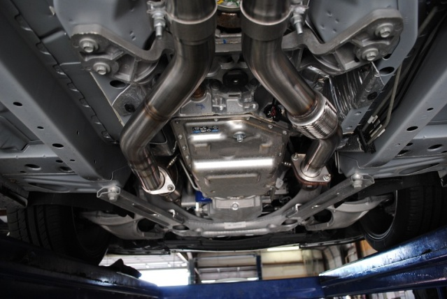 Cts V Coupe Cat Back Exhaust System 4 Quot Round Tips