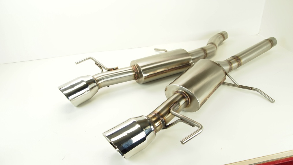 Cadillac Ats Performance Parts >> 2013 2016 Ats 2 0 Turbo Axle Back Performance Exhaust W 4 Tips