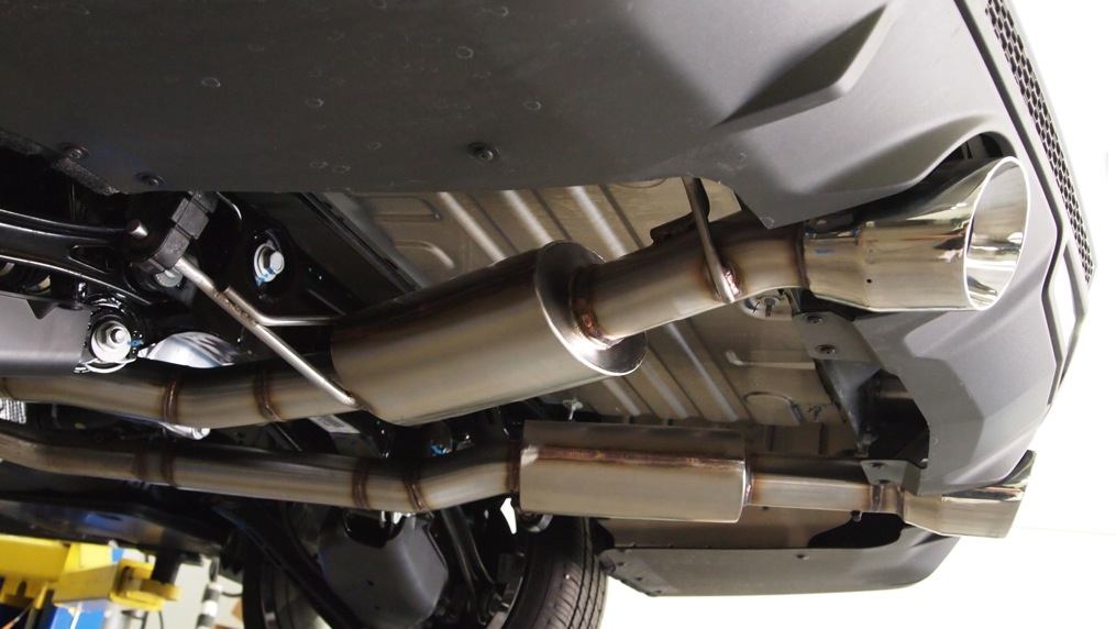 2013 2016 ATS 20 Turbo Axle Back Performance Exhaust W 4