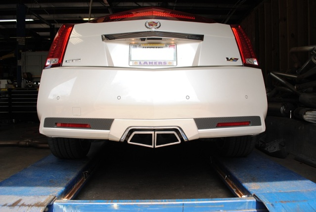 Ctsv Coupe Loudmouth Axleback Exhaust System: 2010 Cadillac Cts Exhaust System At Woreks.co