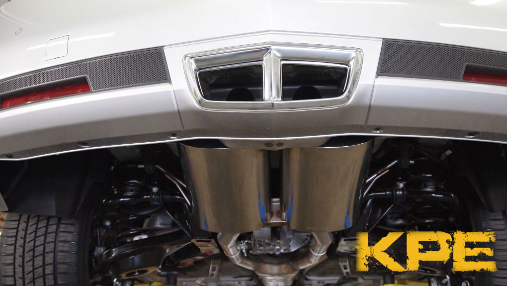 2011-2013 Cadillac CTS Coupe V6 Axle-back Stainless ...