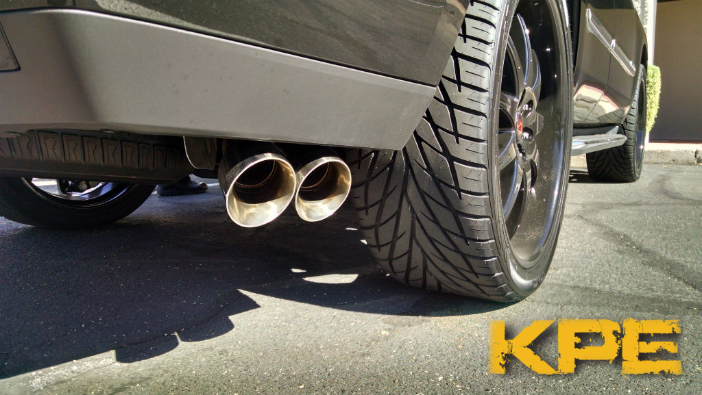 2015 16 Cadillac Escalade Esv Denali Xl Cat Back Exhaust
