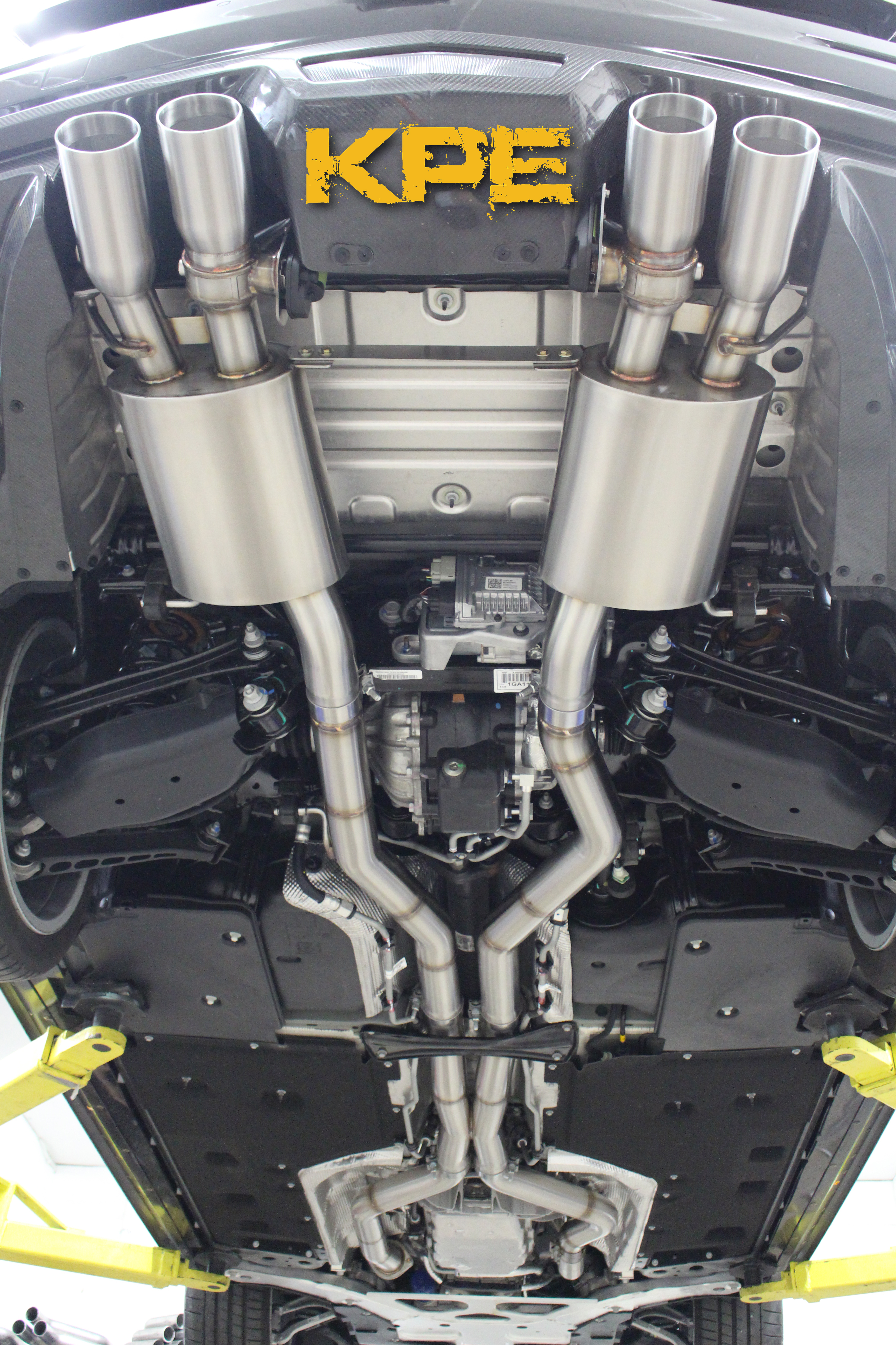 Cadillac ats v exhaust system 2014 17 kpe ats v mid section exhaust publicscrutiny Image collections