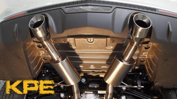 2013-2016 ATS 2 0 Turbo Axle Back Performance Exhaust W/ 4
