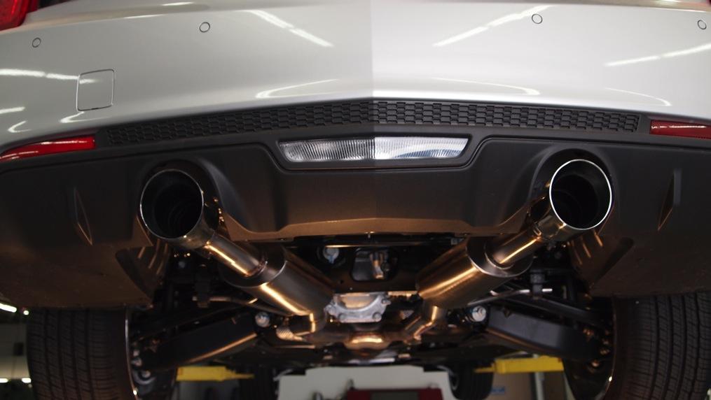 2013 2016 ats 3 6l axle back performance exhaust w 4 tips korkar performance engineering. Black Bedroom Furniture Sets. Home Design Ideas